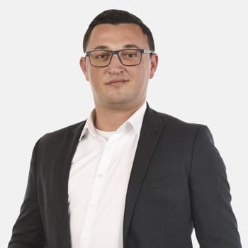 Meet Asim Rexhepi as Key Account Manager Europe