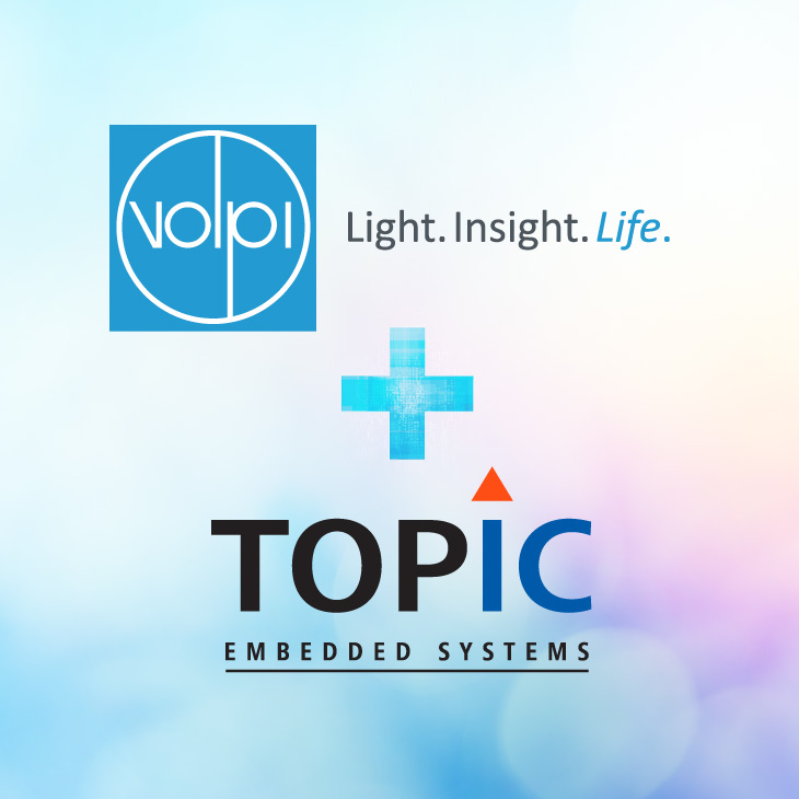 Volpi partners with TOPIC Embedded Systems to offer intelligence-embedded optical measurement modules
